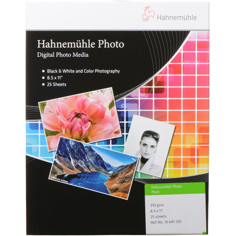 Hahnemuhle 8.5 x 11 In. Photo Pearl 310 Paper (25 Sheets)