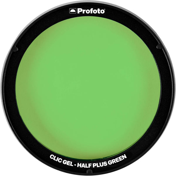 Profoto Clic Gel Half Plus Green
