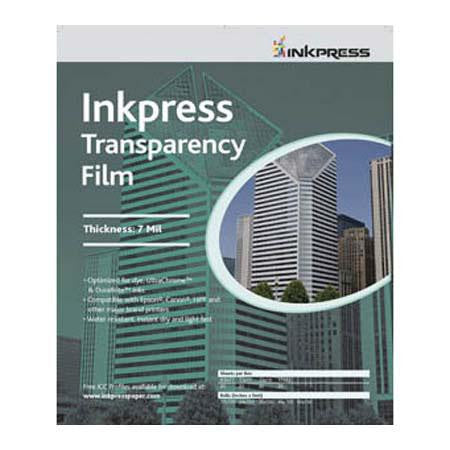 Inkpress 11x17 Transparency Film, 7mil Industrial 500 Sheet Pack