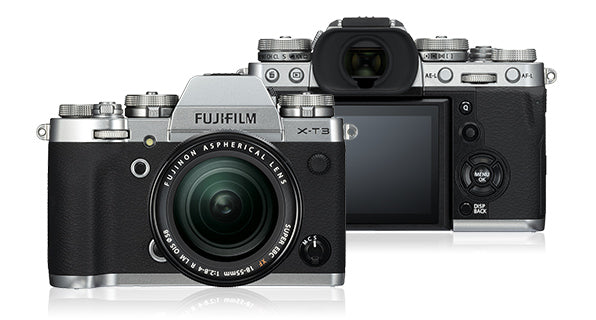 Fujifilm X-T3 Mirrorless Camera & 18-55mm Lens - Silver