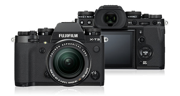 Fujifilm X-T3 Mirrorless Camera & 18-55mm Lens - Black