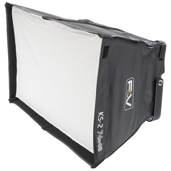 F&V KS-2 Soft Box & Intensifier with Grid for 2x1 LED Panels - Lighting-Studio - F&V Lighting USA - Helix Camera