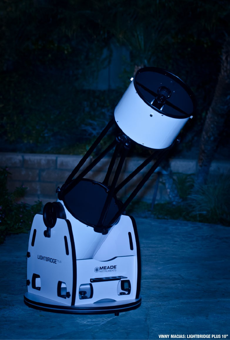 "Meade LightBridge Plus 10"" Telescope"