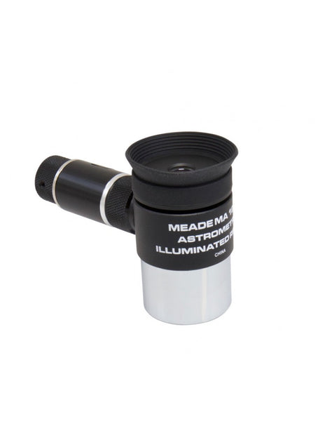 "Meade MA 12mm Illuminated Reticle Astrometric Eyepiece (1 25"")  wireless"