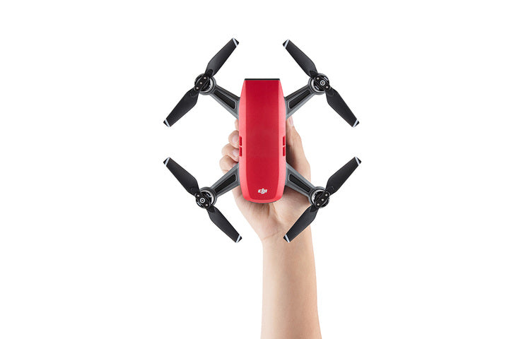 DJI Spark Fly More Combo- Lava Red