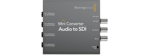 Blackmagic Mini Converter Audio to SDI