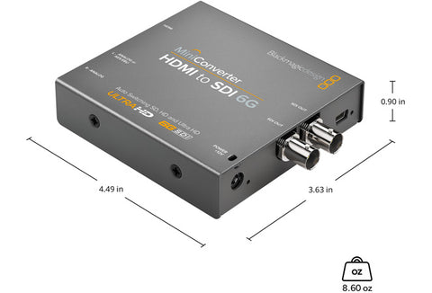 Blackmagic Mini Converter HDMI to SDI 6G