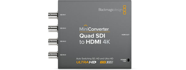 Blackmagic Mini Converter Quad SDI to HDMI 4K 2