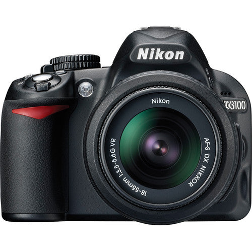 Used Nikon D3100 DSLR with 18-55mm VR