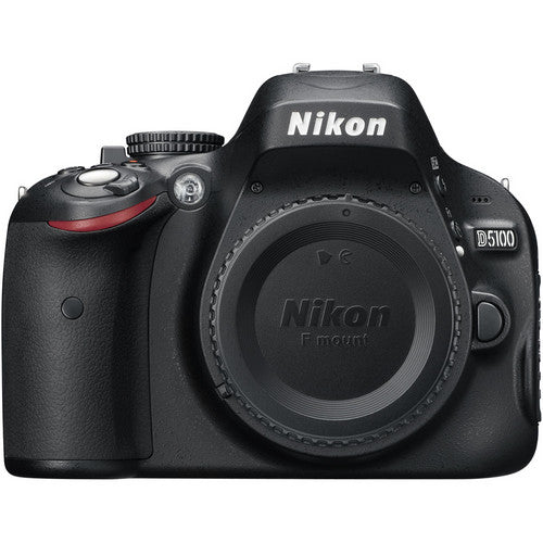 Used Nikon D5100 DX DSLR with 18-55mm VR II & Battery Grip