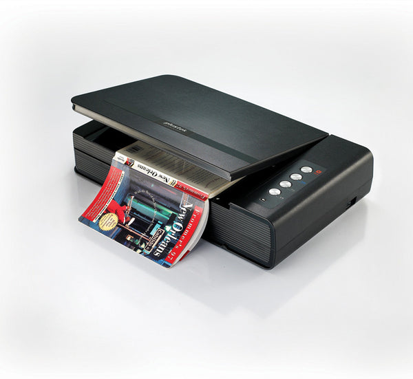 Plustek OpticBook 4800 LED light commerial grade Book Scanner (PLS-783064354660) - Print-Scan-Present - Plustek - Helix Camera