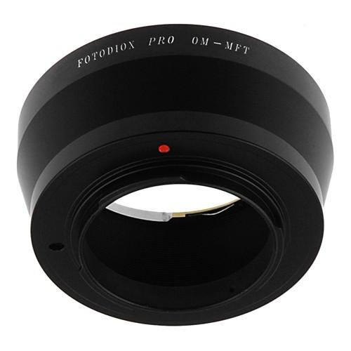 Fotodiox Lens Mount Adapter - Olympus Zuiko (OM) 35mm SLR Lens to Micro Four Thirds (MFT, M4/3) Mount Mirrorless Camera Body
