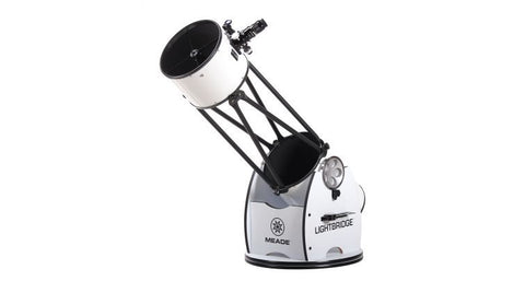 "Meade 12"" Aperture LightBridge (f/5) Truss-Tube Dobsonian - Telescopes - Meade - Helix Camera"