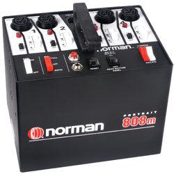 Norman P808M Power Supply 800 watt seconds