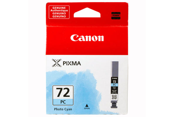 Canon Lucia PGI-72 Photo Cyan Ink Tank