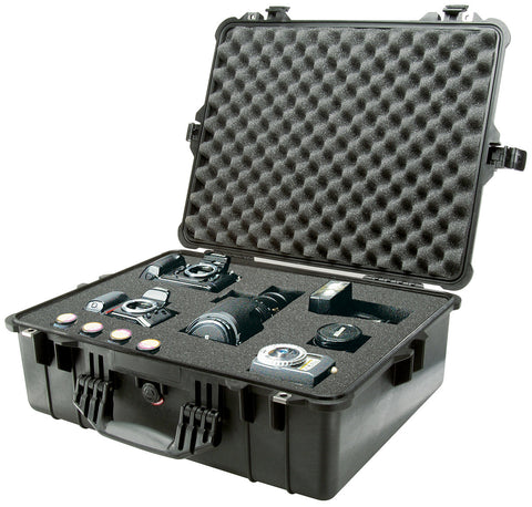 Pelican 1600 Case with Foam (Black) - Photo-Video - Pelican - Helix Camera