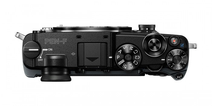 Olympus PEN-F Mirrorless Camera - Black