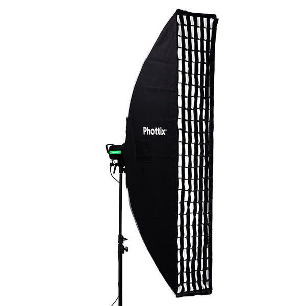 "Phottix Solas Strip Softbox with Grid 16""x71"" - Lighting-Studio - Phottix - Helix Camera"
