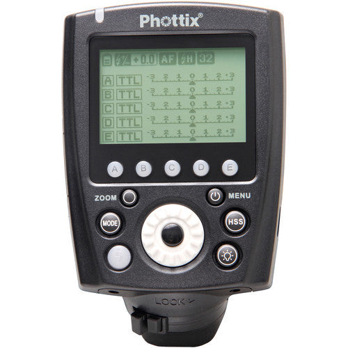 Phottix Odin II TTL Flash Trigger Transmitter for Canon PH89074 - Photo-Video - Phottix - Helix Camera