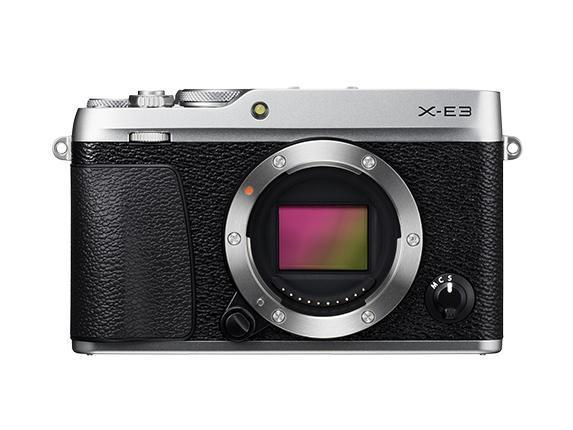 Fujifilm X-E3 Mirrorless Camera & XF 18-55mm f2.8-4.0 - Silver