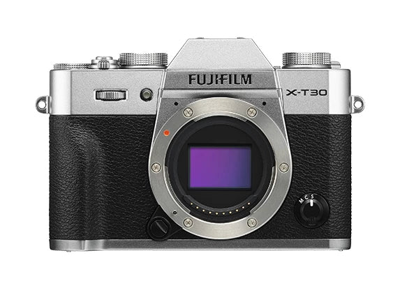 Fujifilm X-T30 Mirrorless Camera with 18-55mm - Silver