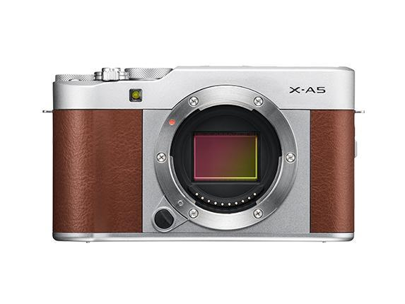 Fujifilm X-A5 Mirrorless Camera & XC 15-45mm Lens - Brown