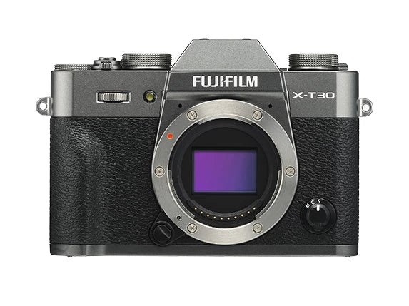 Fujifilm X-T30 Mirrorless Camera with 15-45mm - Charcoal