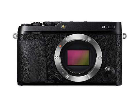 Fujifilm X-E3 Mirrorless Camera & XF 18-55mm f2.8-4.0 - Black