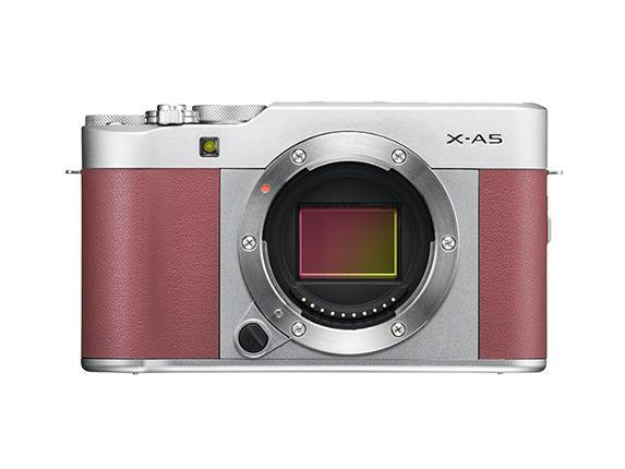 Fujifilm X-A5 Mirrorless Camera & XC 15-45mm Lens - Pink