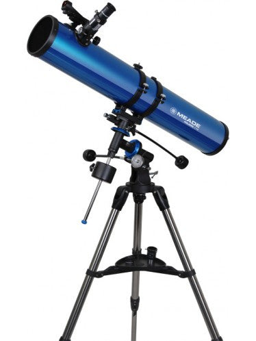 Meade Polaris 114mm German Equatorial Reflector - Telescopes - Meade - Helix Camera