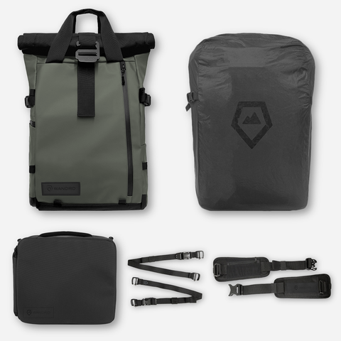 WANDRD PRVKE 21 Photo Bundle Backpack V2 - Green