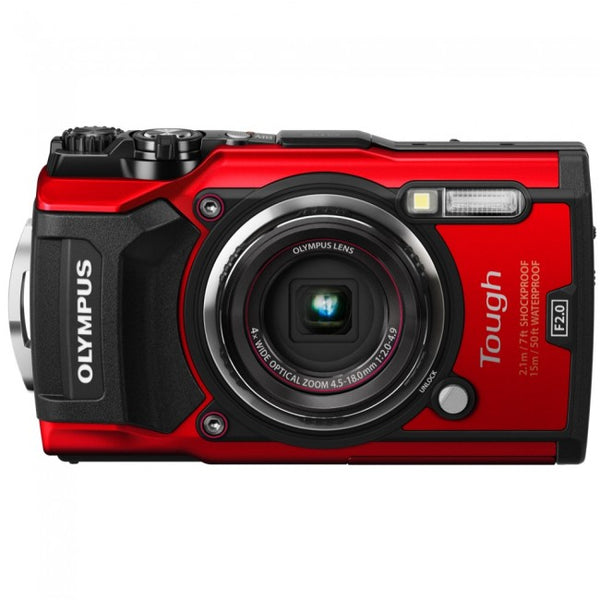 Olympus Stylus Tough TG-5 Digital Camera - Red