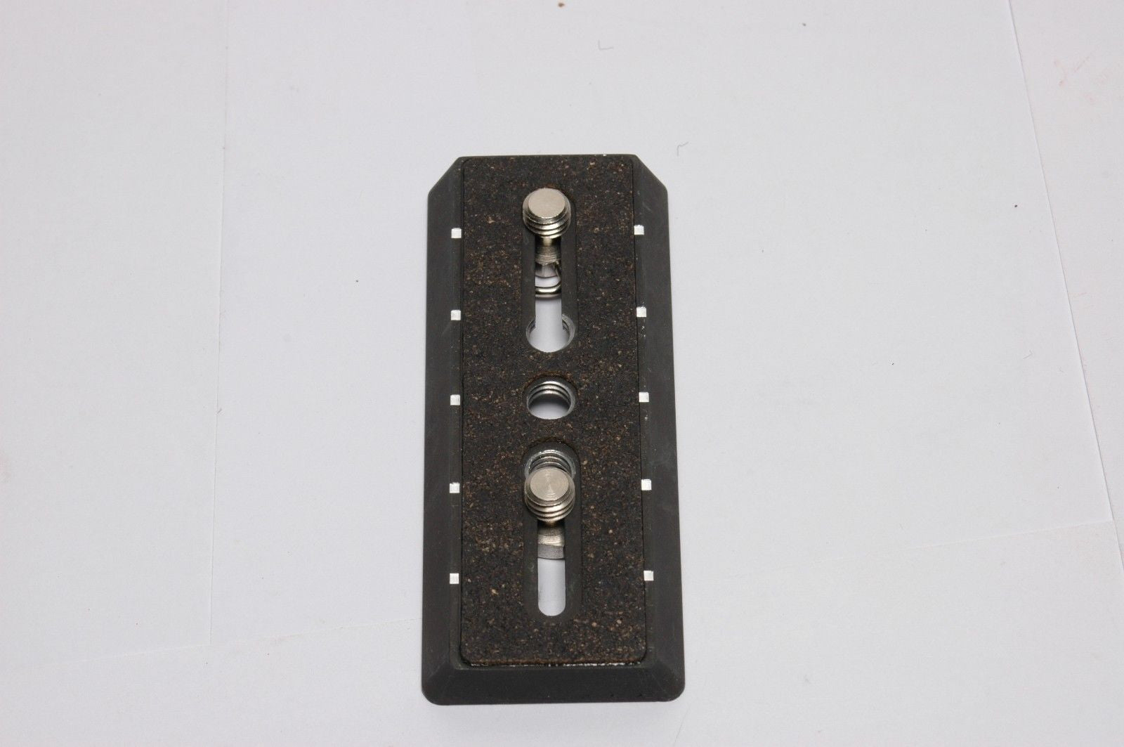 "Gitzo G-117438 Long Quick Release Plate with Two 3/8"" - Photo-Video - Gitzo - Helix Camera"