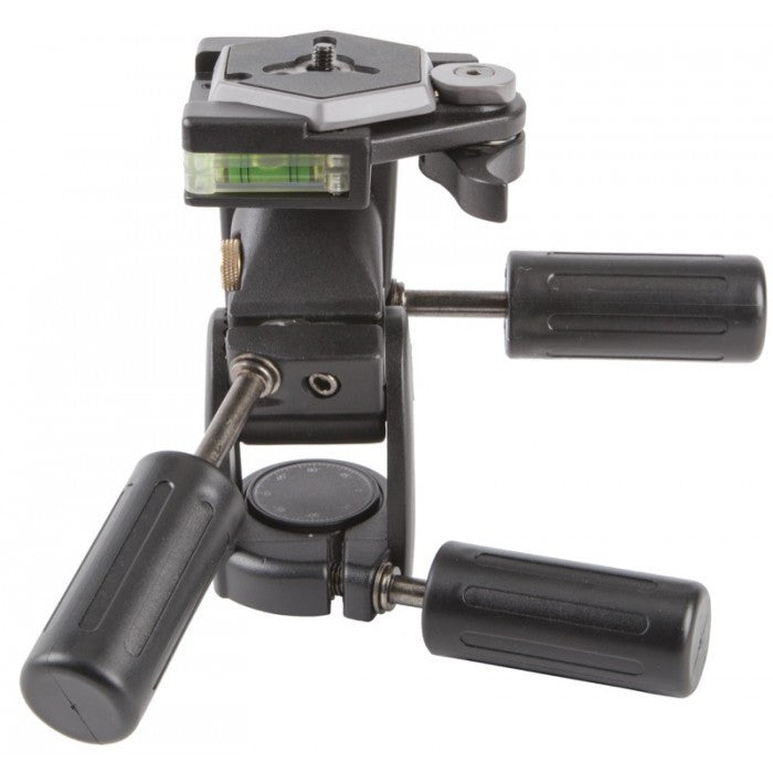Heavy Duty 3-way Head -  - Helix Camera & Video - Helix Camera