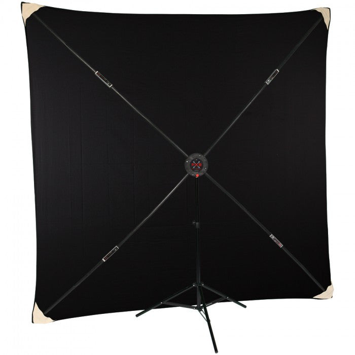 Studio-Assets PXB 8x8' System with Black Muslin Kit