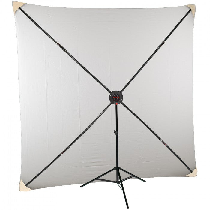 Studio-Assets PXB 8x8' System with White Muslin Kit