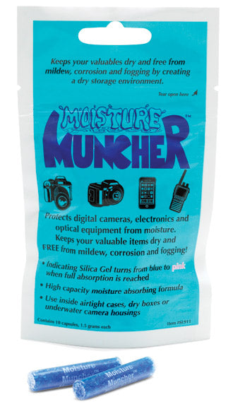SeaLife Moisture Muncher Capsules (10 Pack) - Underwater - SeaLife - Helix Camera