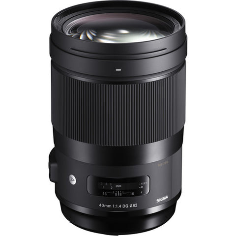 Sigma 40mm F1.4 DG HSM I Art Lens - L-Mount