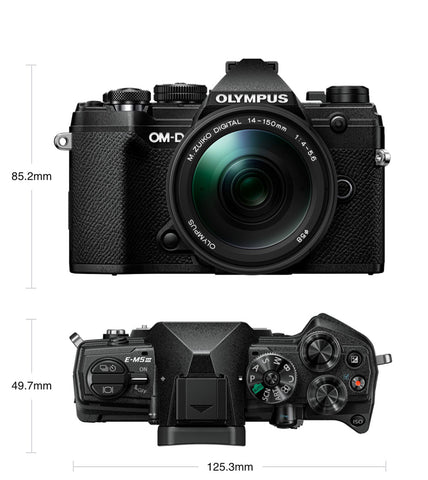 Olympus OM-D E-M5 Mark III Mirrorless Camera - Black