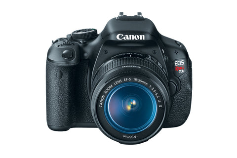 Used Canon EOS Rebel T3i DSLR with 18-55mm IS II