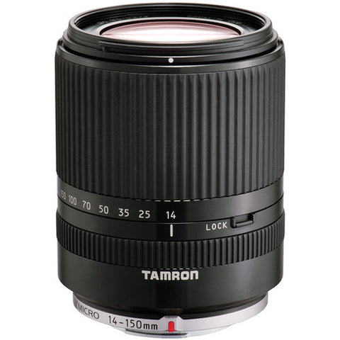 Tamron Micro Four Thirds 14-150mm F/3.5-5.8  Di III w/hood BLACK  AFC001700 - Photo-Video - Tamron - Helix Camera