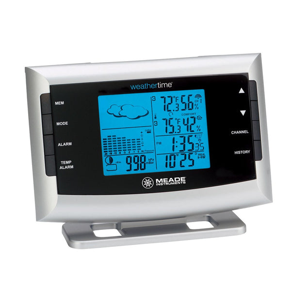 Meade TE653ELW-M Personal Weather Station with Atomic Clock - Weather Stations - Meade - Helix Camera