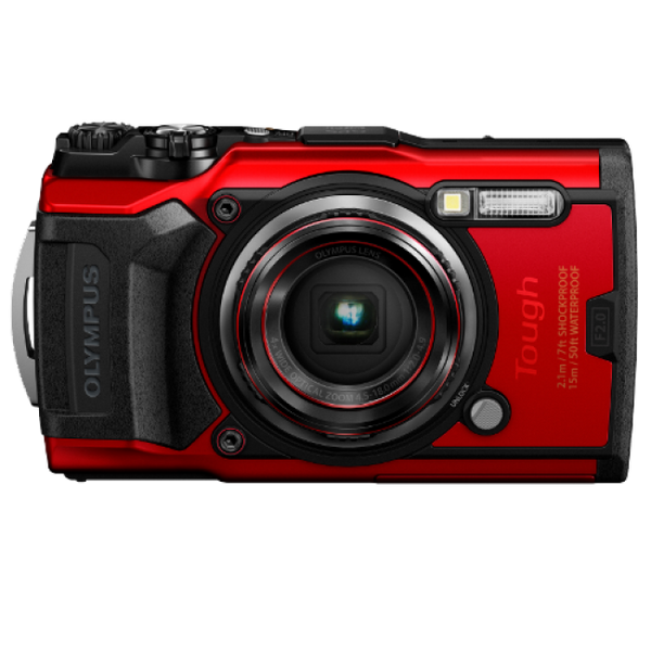 Olympus Stylus Tough TG-6 Digital Camera - Red
