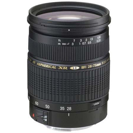 Tamron Canon SP 28-75mm F/2.8 XR Di LD Aspherical (IF) w/ hood AF09C700