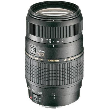 Tamron Nikon 70-300mm F/4-5.6 Di LD Macro w/ hood AF017NII700 - Photo-Video - Tamron - Helix Camera