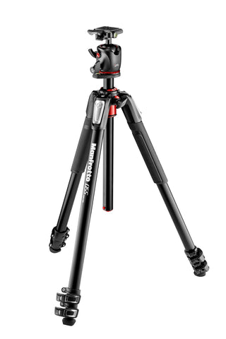 Manfrotto 055 Aluminum 3 Section Tripod with Ball Head