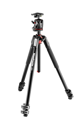 Manfrotto 190 Aluminium 3-Section Tripod and XPRO Ball Head - Photo-Video - Manfrotto - Helix Camera