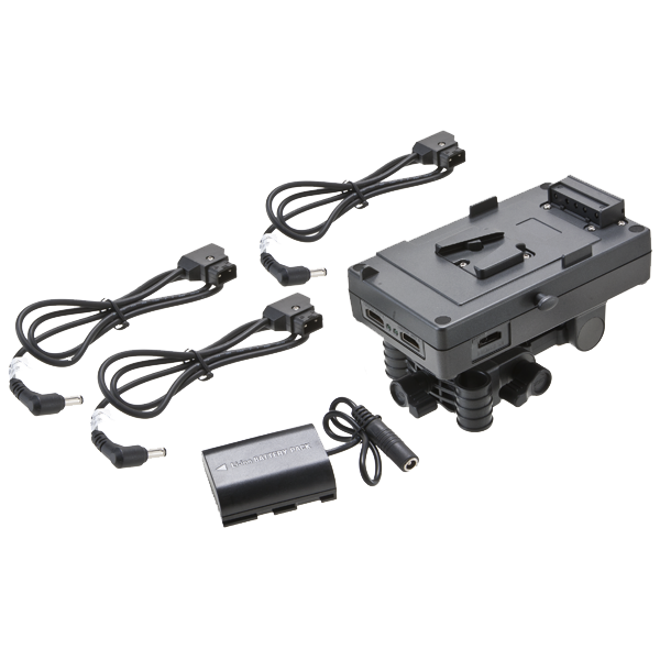 F&V V-mount Battery System with HDMI Splitter - Kit 102021020101