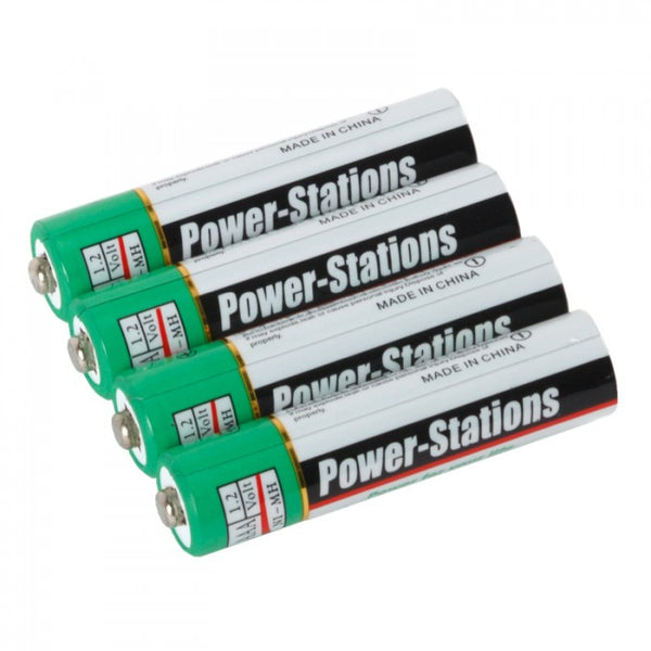 Volta Power-Stations Ni-MH 1200mAh AAA Rechargeable Batteries (4-pack) - Lighting-Studio - Volta - Helix Camera