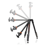 Vanguard Aluminum tripod with ball head, 5 section, 23 mm legs (VEO 235AB) - Photo-Video - Vanguard - Helix Camera